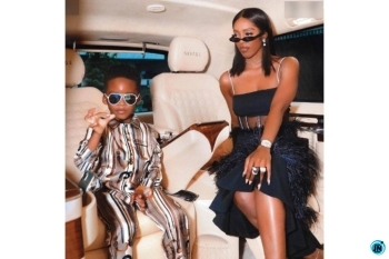 Just like Wizkid, Tiwa Savage buys her little boy, Jamil a Christmas gift worth N500,000